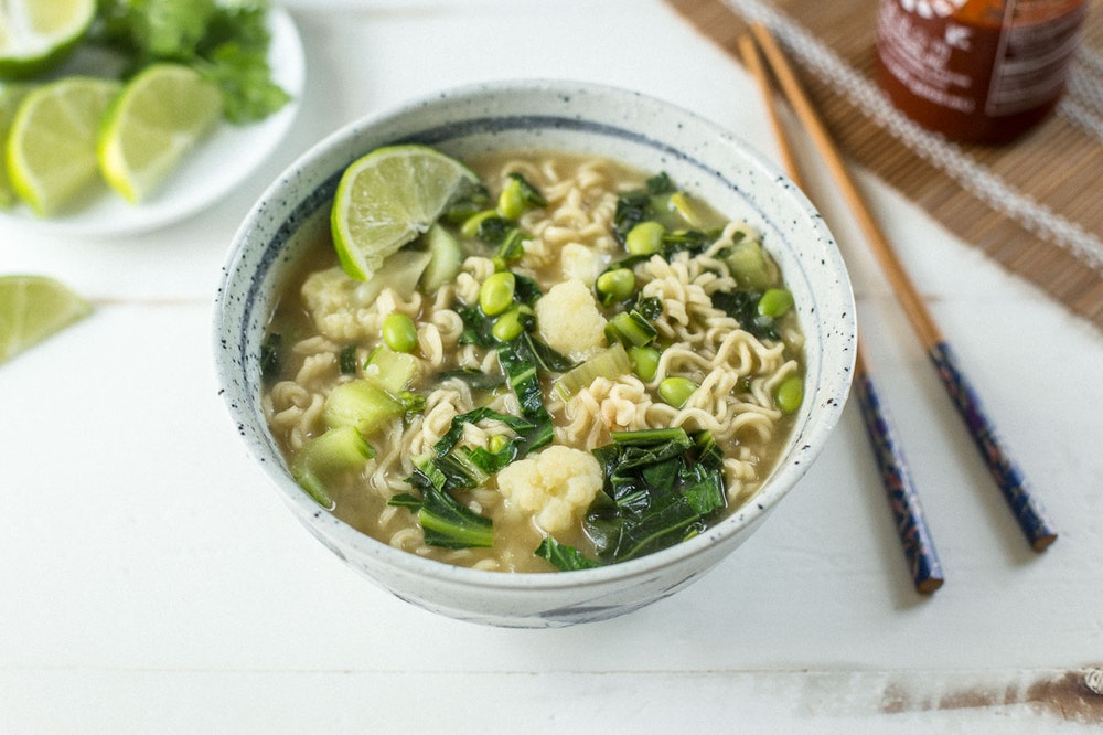 Miso Noodle Soup with Lime