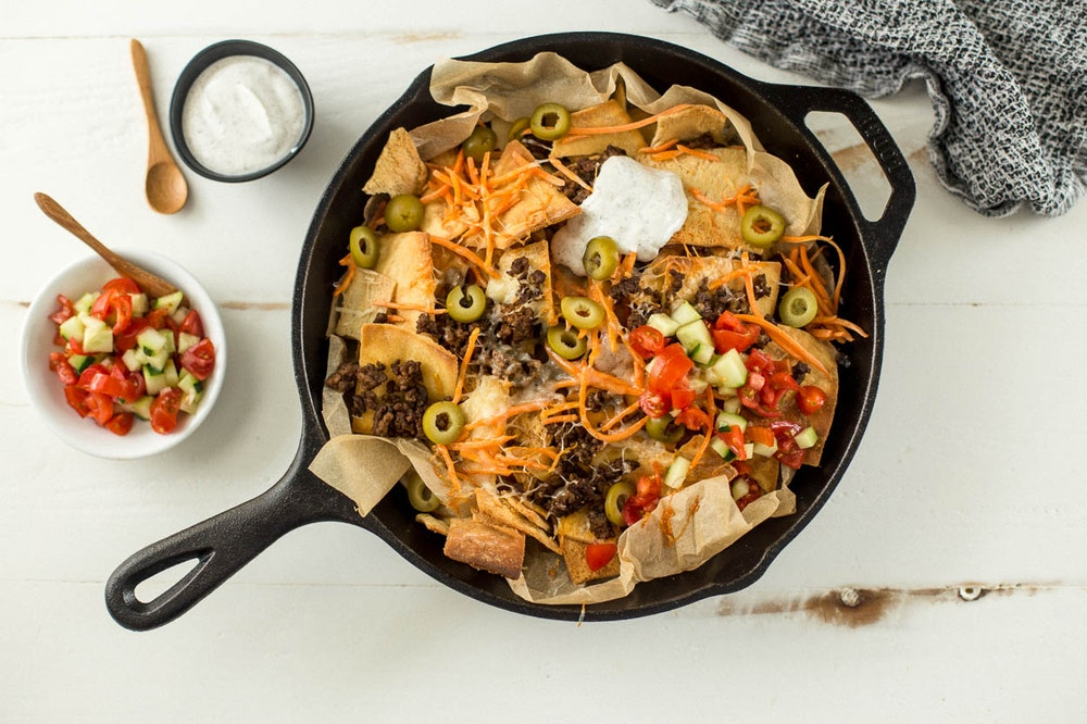 [Leftover] Lentil and Pita Chip Nachos