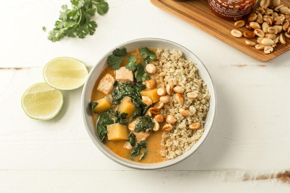 Thai Peanut Chicken Curry