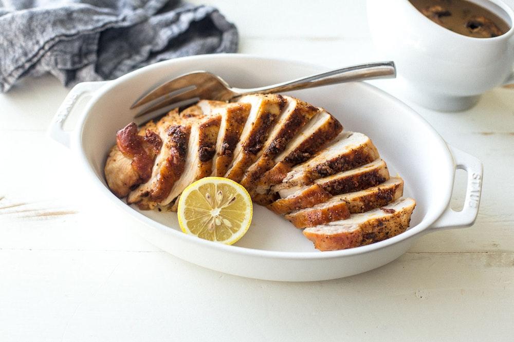 Lemon and Paprika Roast Turkey Breast