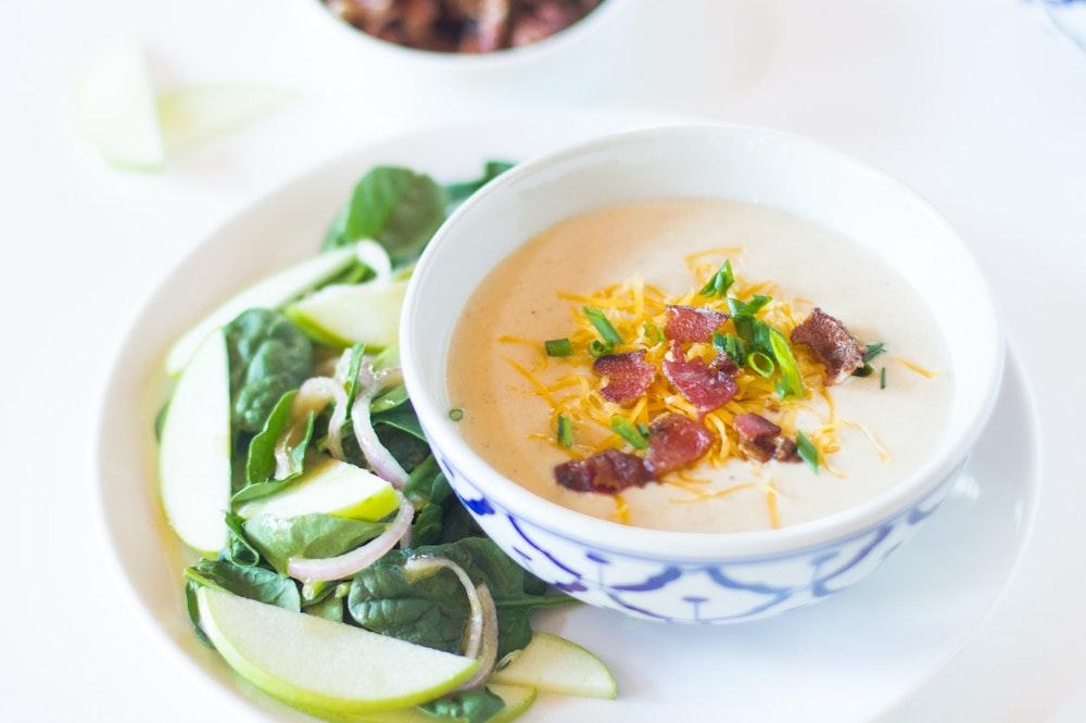 Instant Pot (or not) Baked Potato Soup