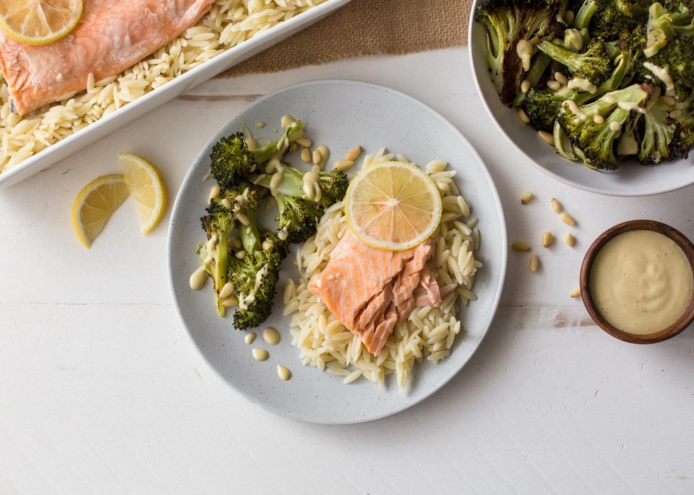 Foil-Roasted Lemon Salmon