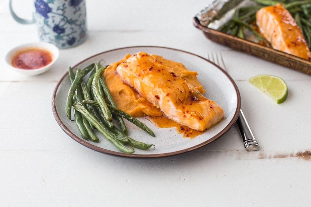 Sweet Thai Chili Salmon