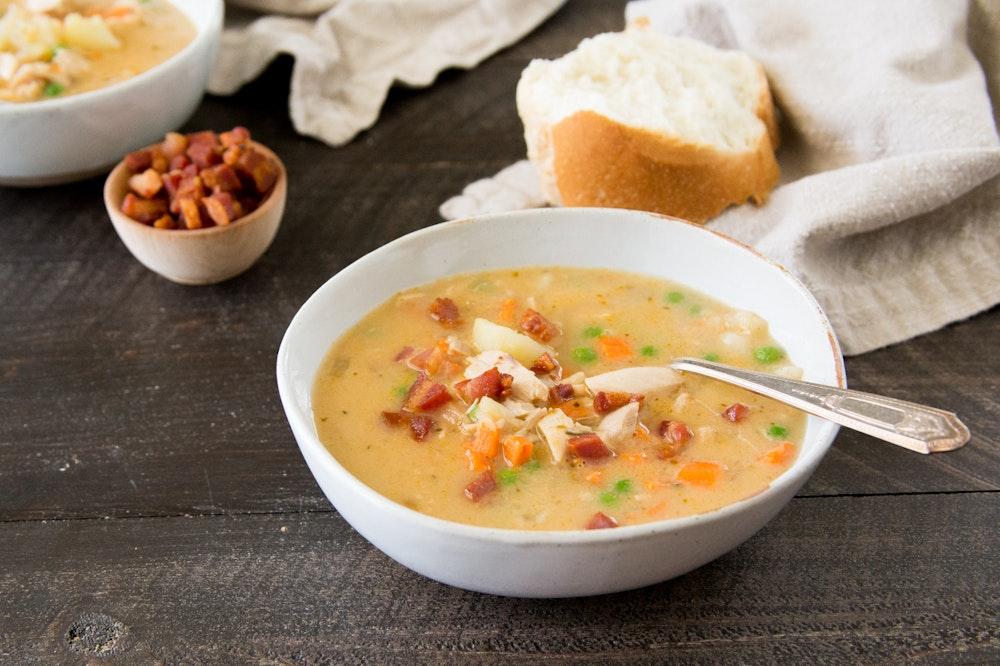 Creamy Italian Chicken Soup