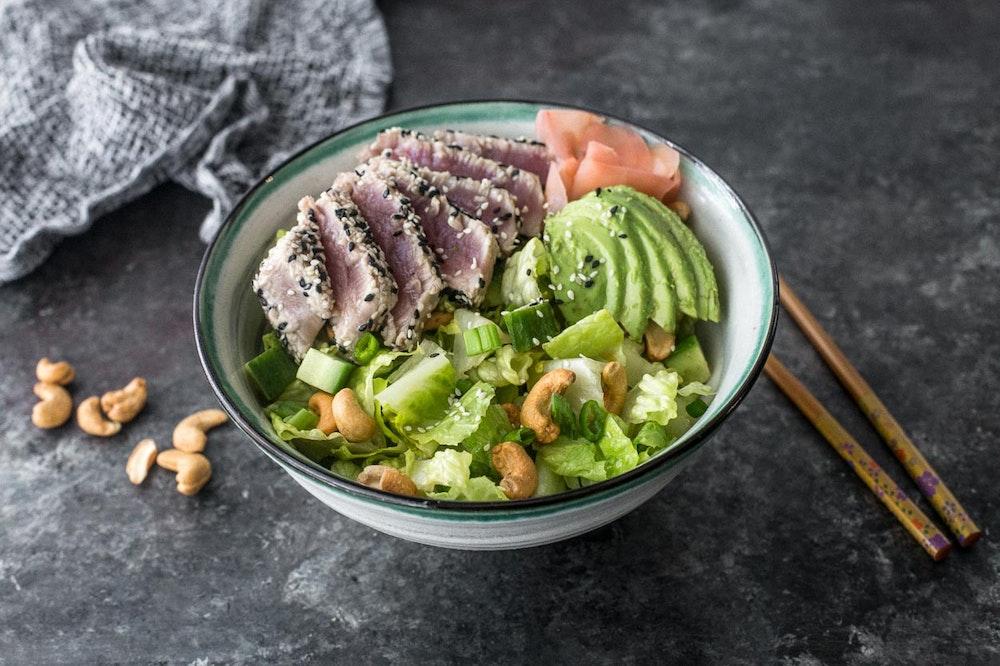 Tuna Roll Salad