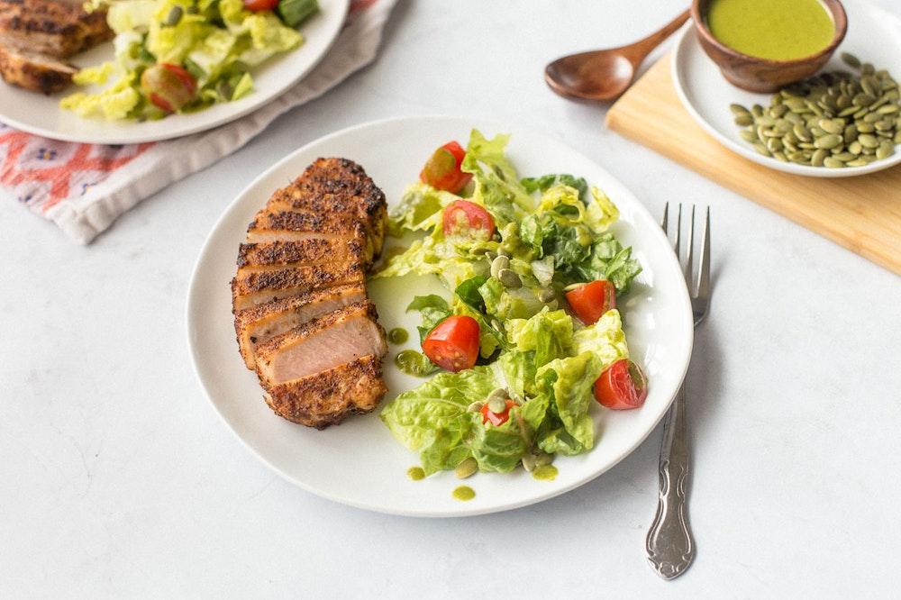 Spice-Rubbed Pork Chop