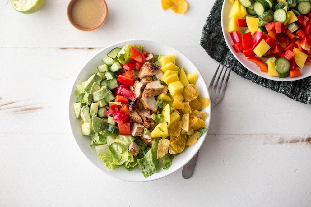 Jerk Chicken Chopped Salad