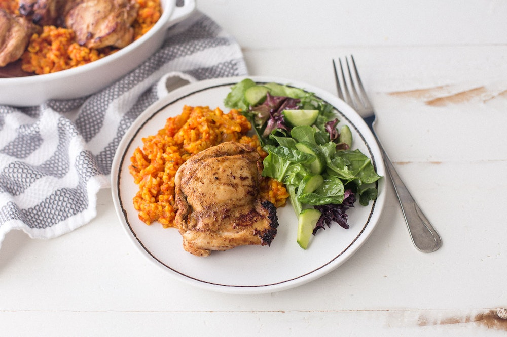 Berbere-Spiced Chicken Thighs