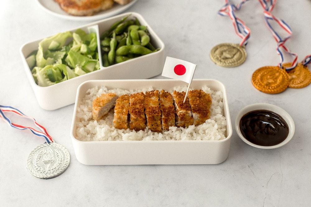 Tonkatsu Bento Box