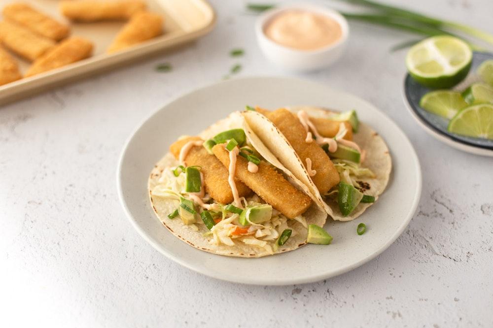 Asian Fish Stick Tacos