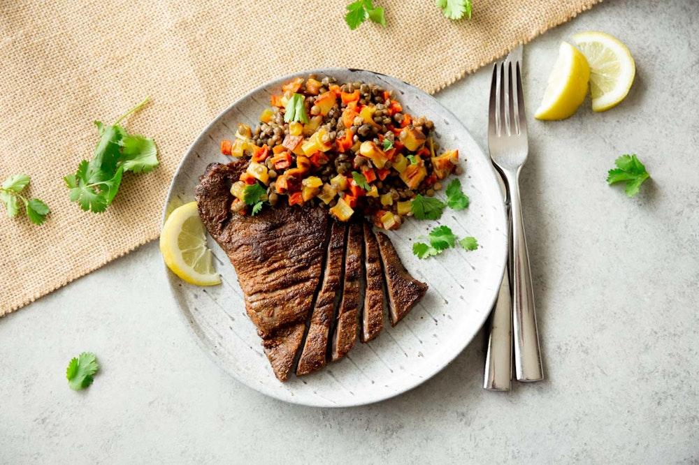 Moroccan-Spiced Skirt Steak
