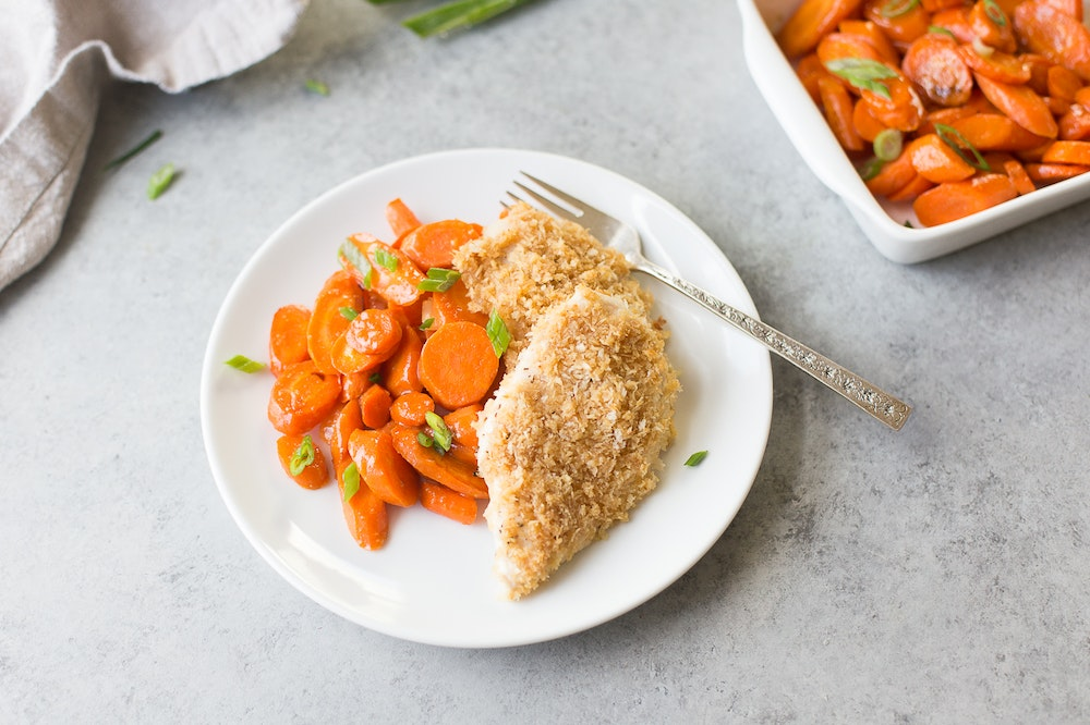 Miso-Maple Crusted Chicken Breasts