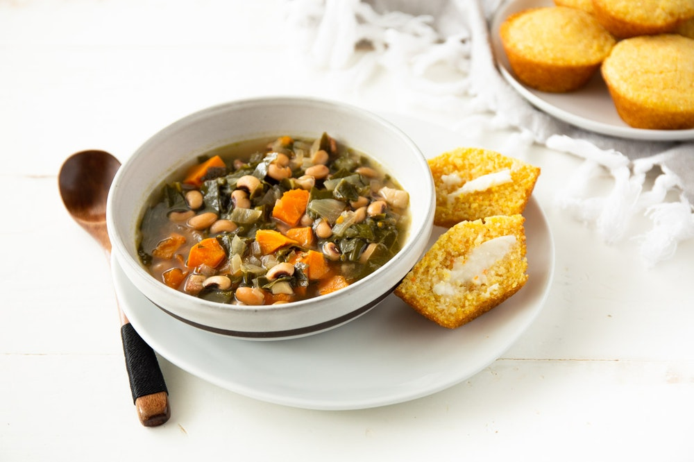 Slow Cooker (or not) Black-Eyed Pea Soup