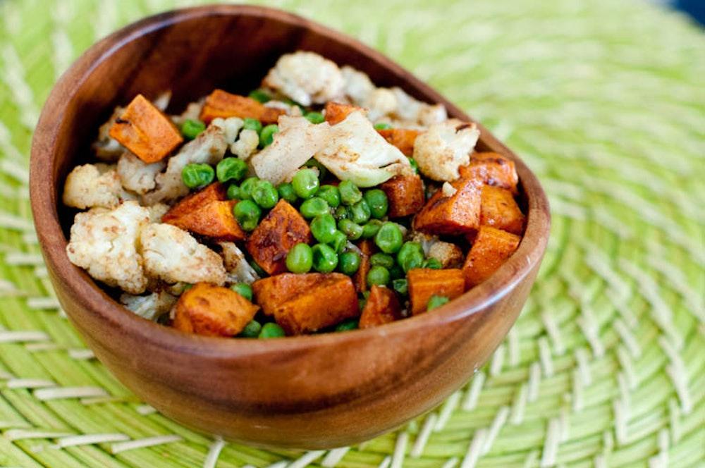 Indian-Spiced Roasted Vegetables