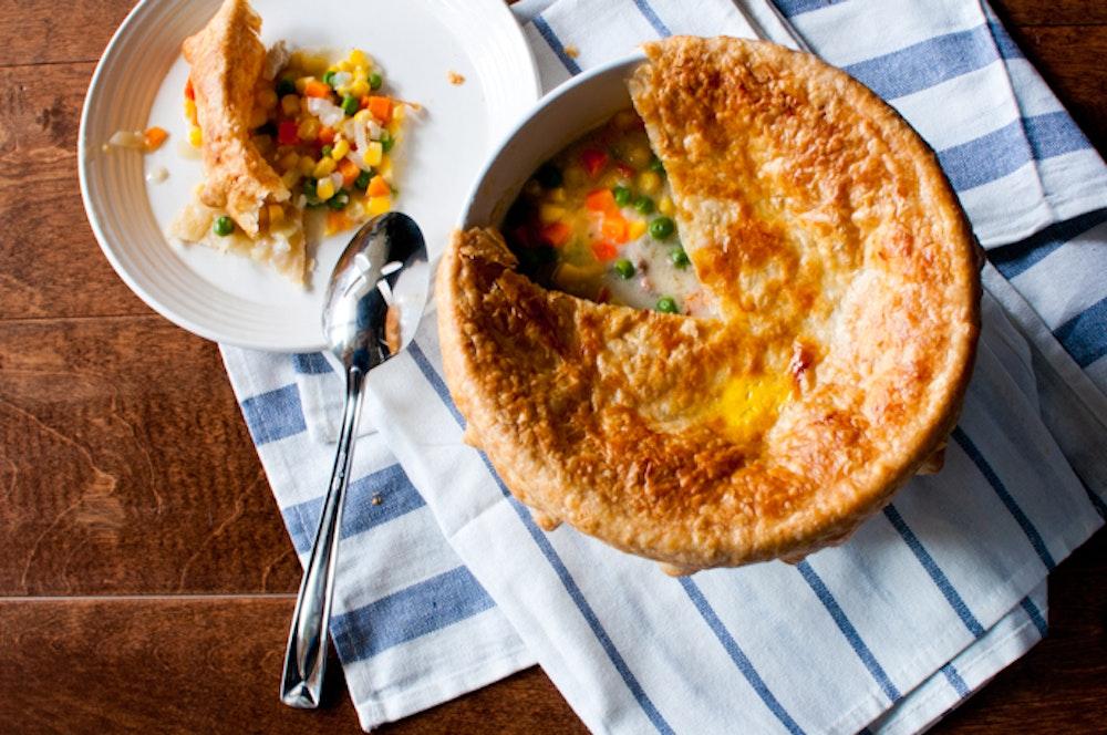 Rotisserie Chicken Pot Pie