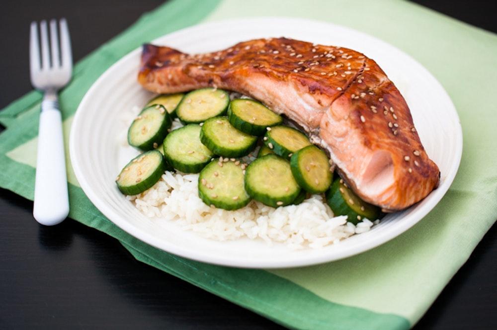 Sesame-Teriyaki Salmon