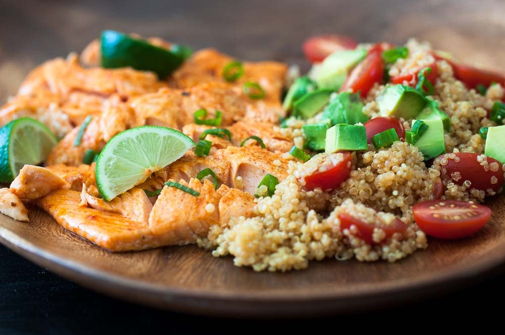 Honey-Lime Salmon