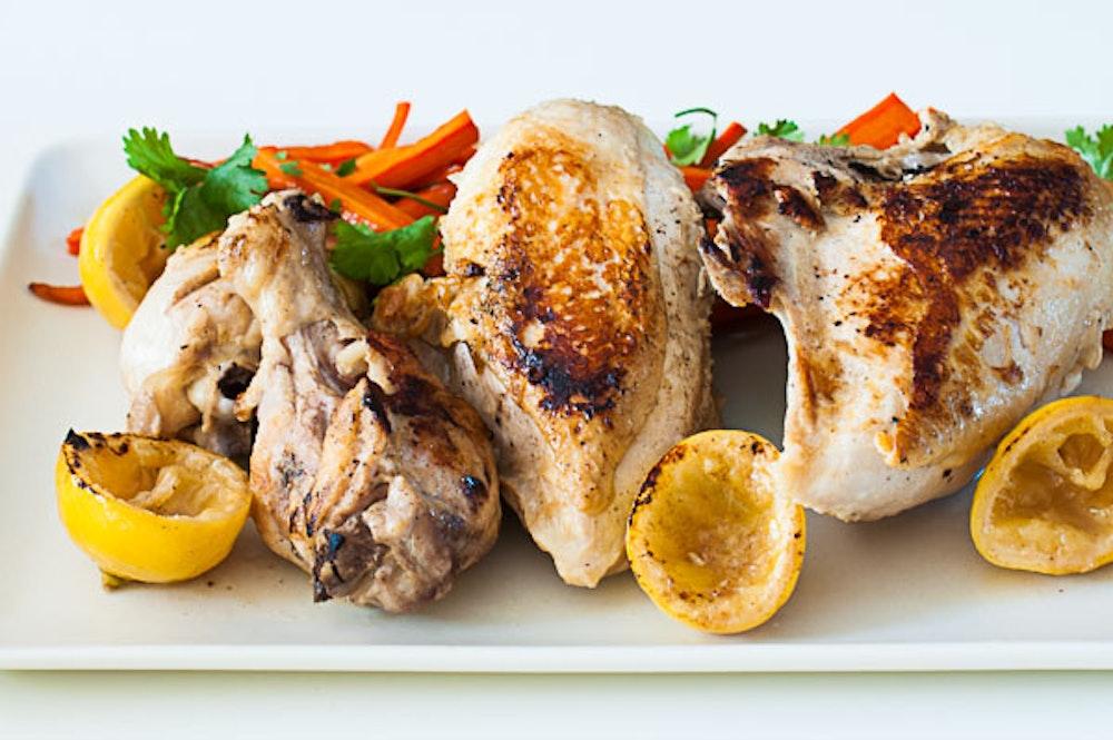 Lemony-Garlicky Chicken