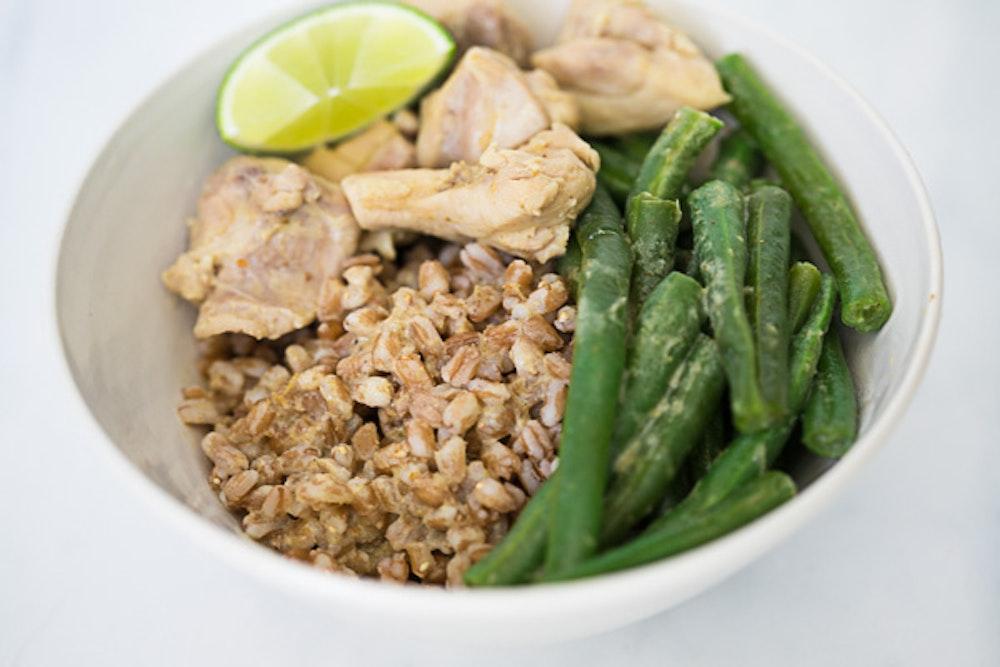 Chicken and Green Bean Thai Curry