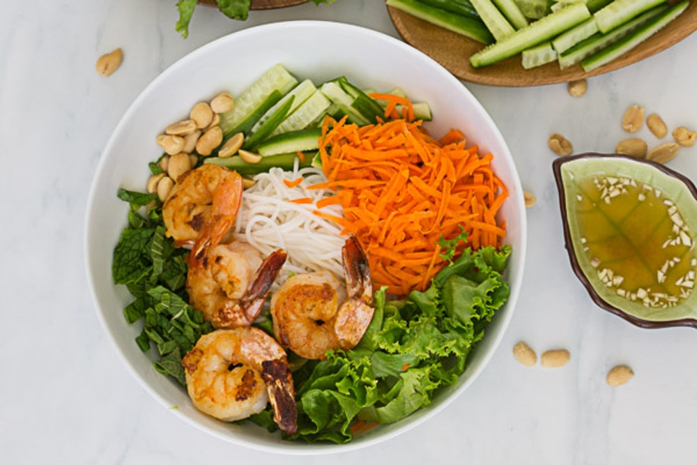 Shrimp Vermicelli Bowl