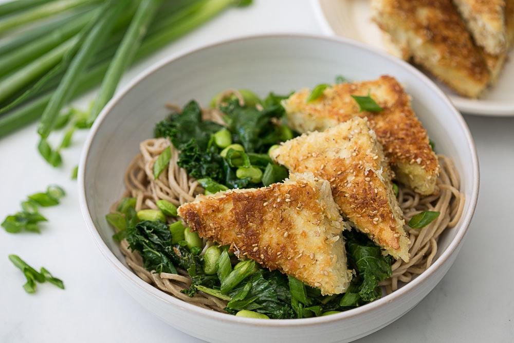 Kale and Edamame Soba Salad