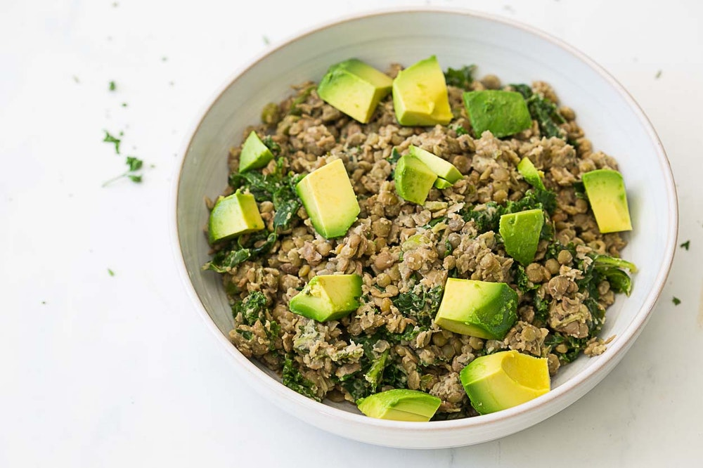 Green Curry Lentils