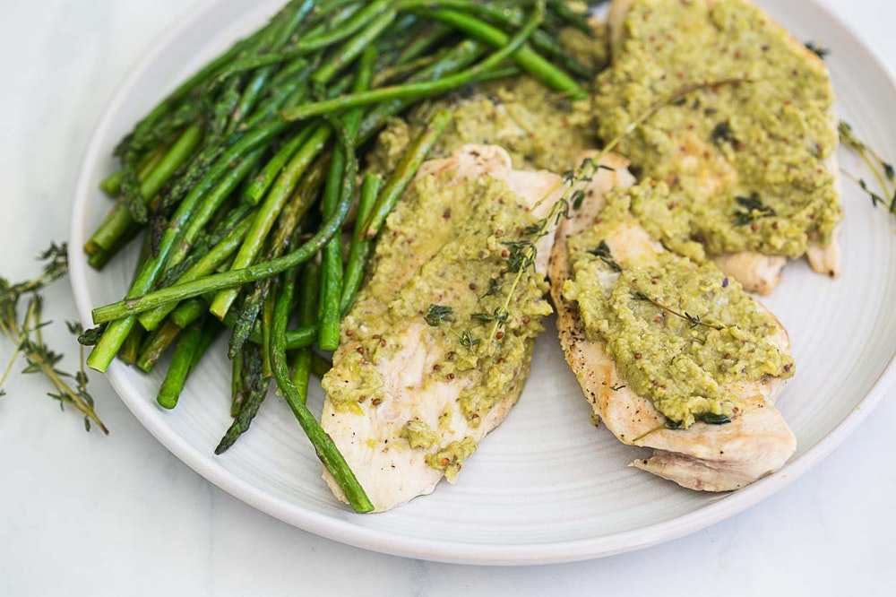Chicken Breasts and Olive Tapenade