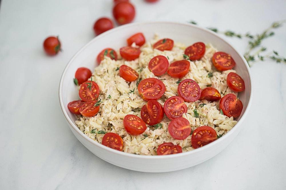 Tuna Orzo Salad