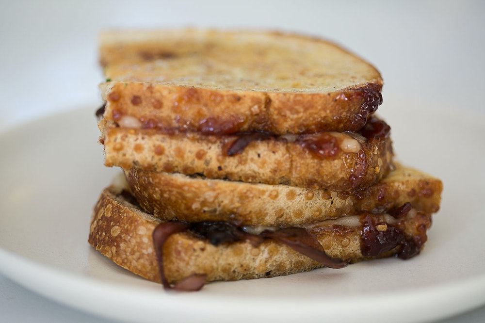 Grilled Cheese with Balsamic Red Onions {Favorites}