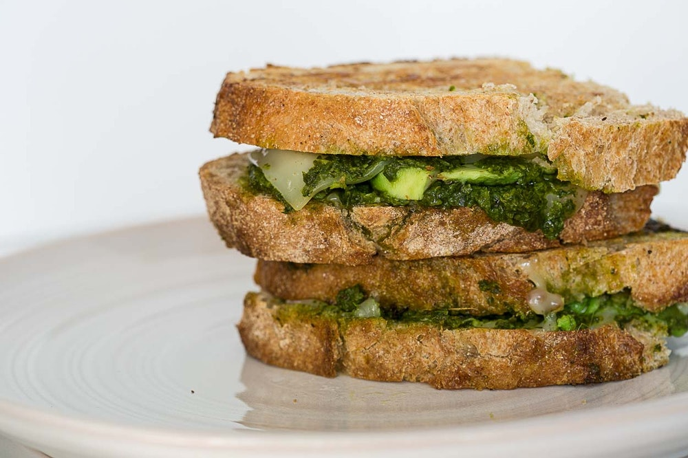 Avocado & Chimichurri Grilled Cheese