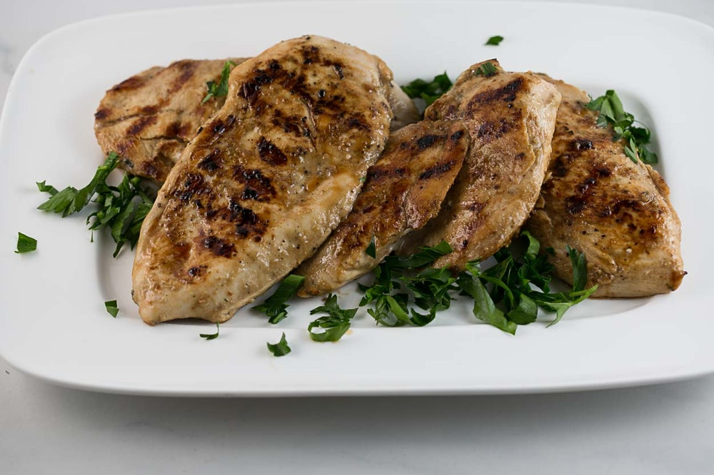 Baked Sesame-Soy Chicken Breasts