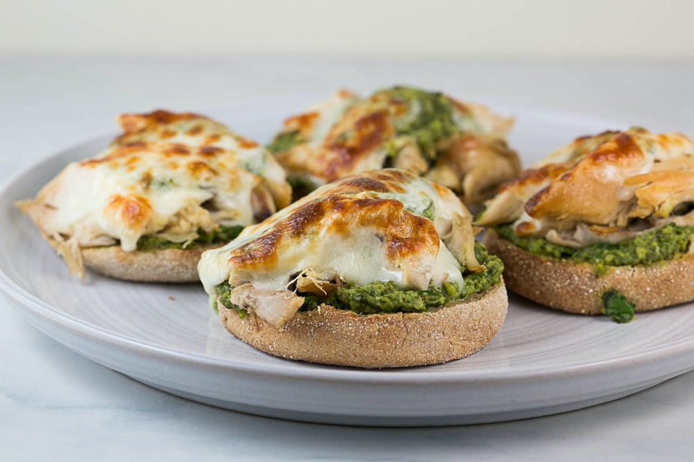 Rotisserie Chicken Melts