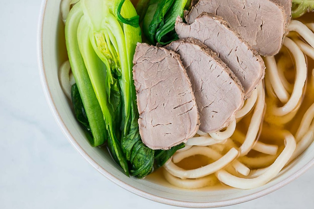 Miso Pork Noodle Soup