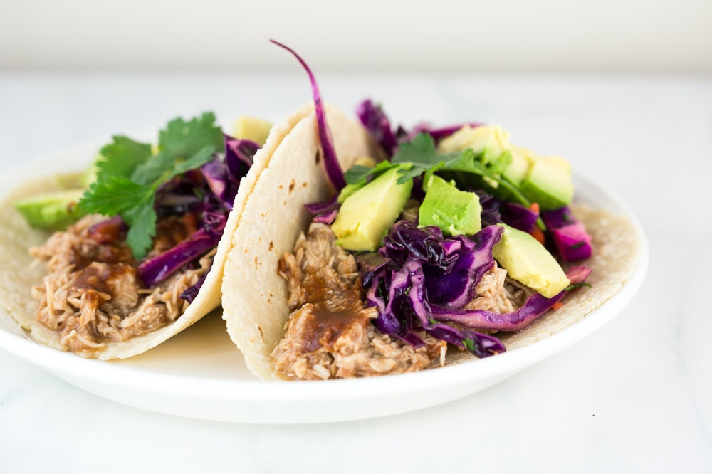 Pulled BBQ Chicken Tacos