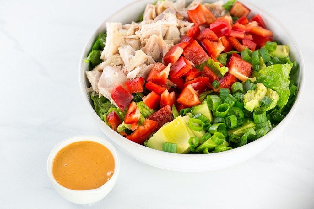 Rotisserie Chicken Chopped Salad