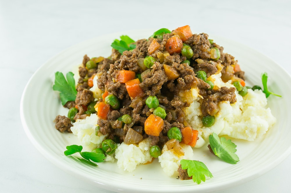 Deconstructed Shepherd's Pie