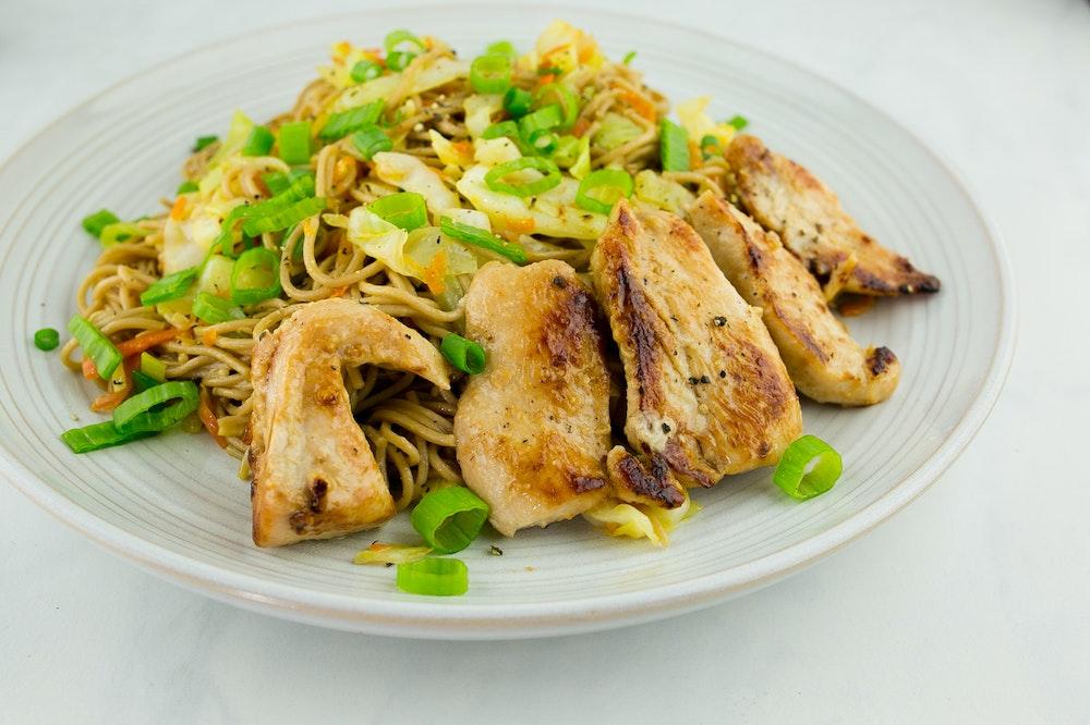 Chicken Soba Noodles