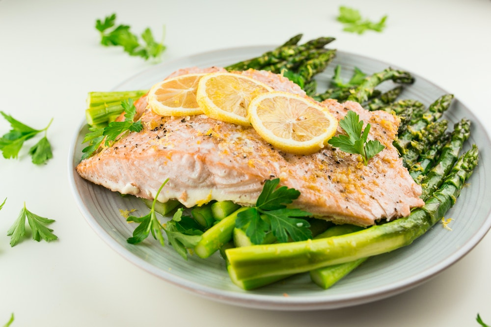 Lemon-Garlic Salmon