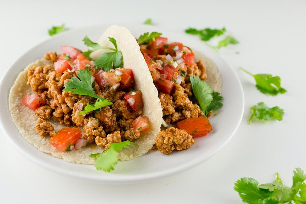 Turkey & Pico de Gallo Tacos