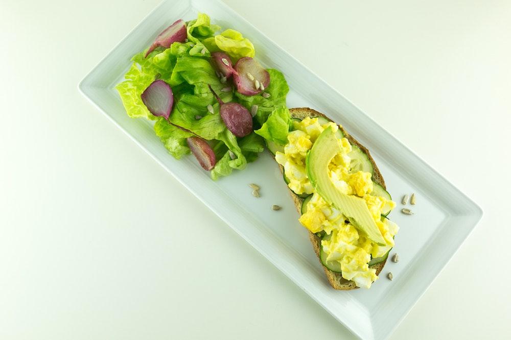 Egg Salad Toasts