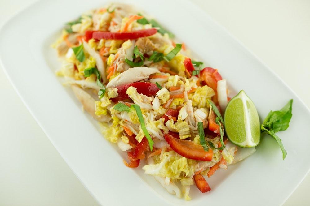 Asian Rotisserie Chicken Salad
