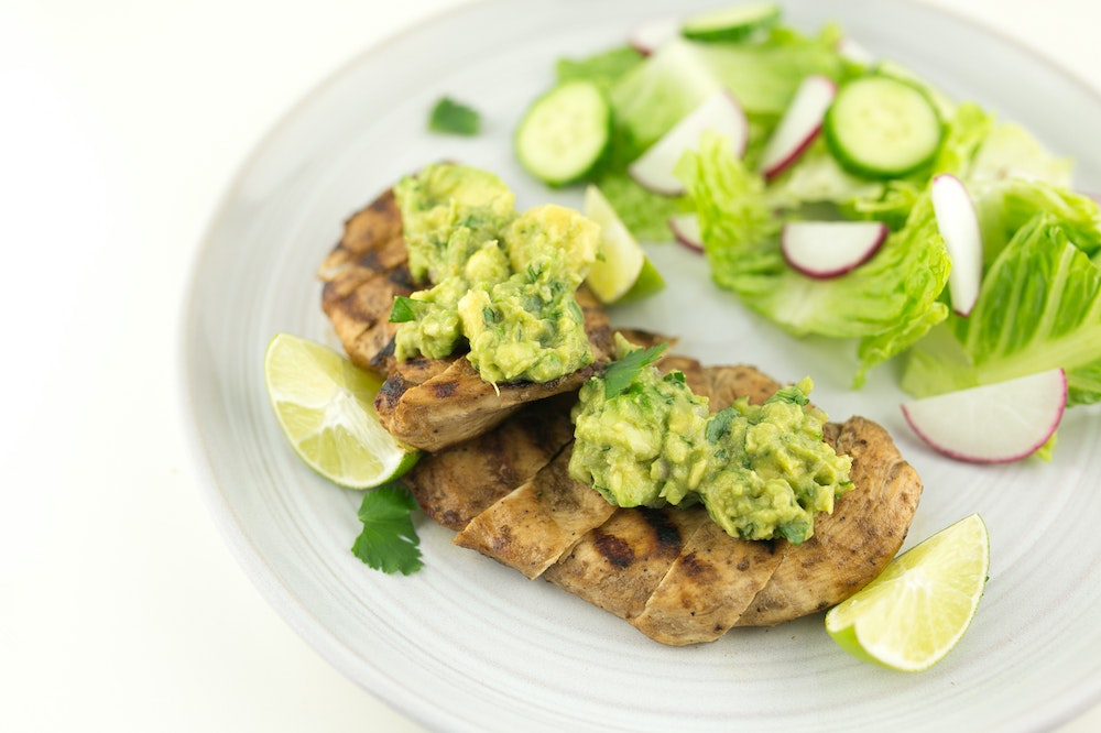 Guacamole Tequila-Lime Chicken
