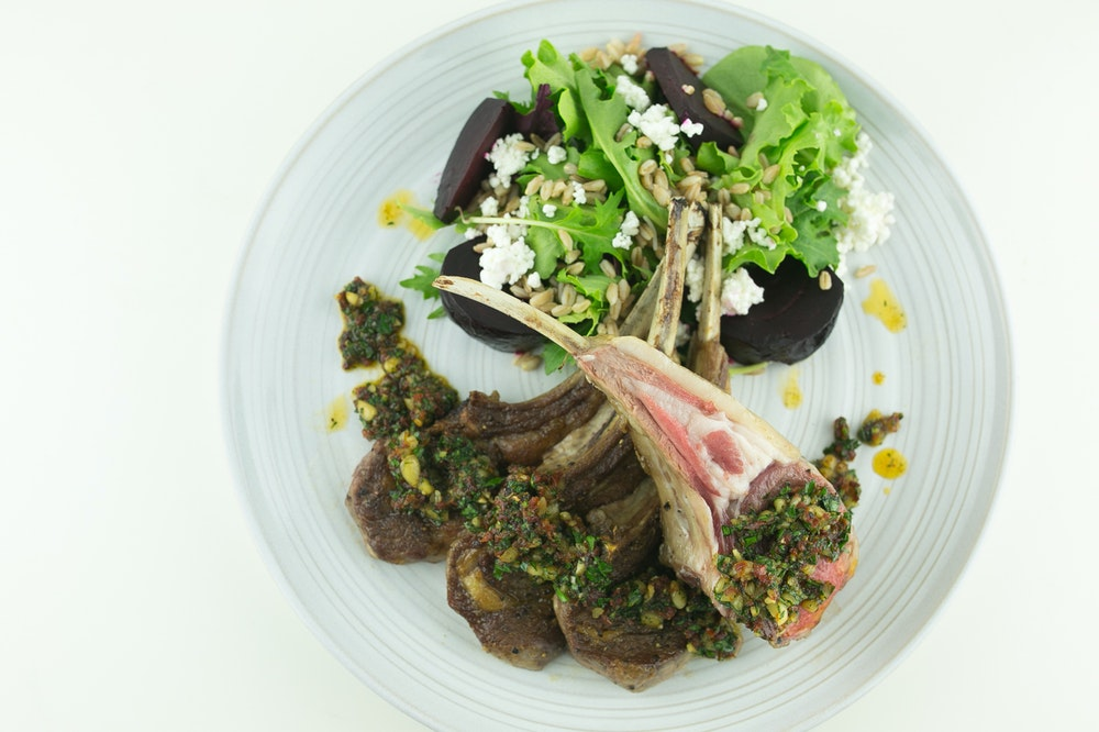 Grilled / Roasted Rack of Lamb