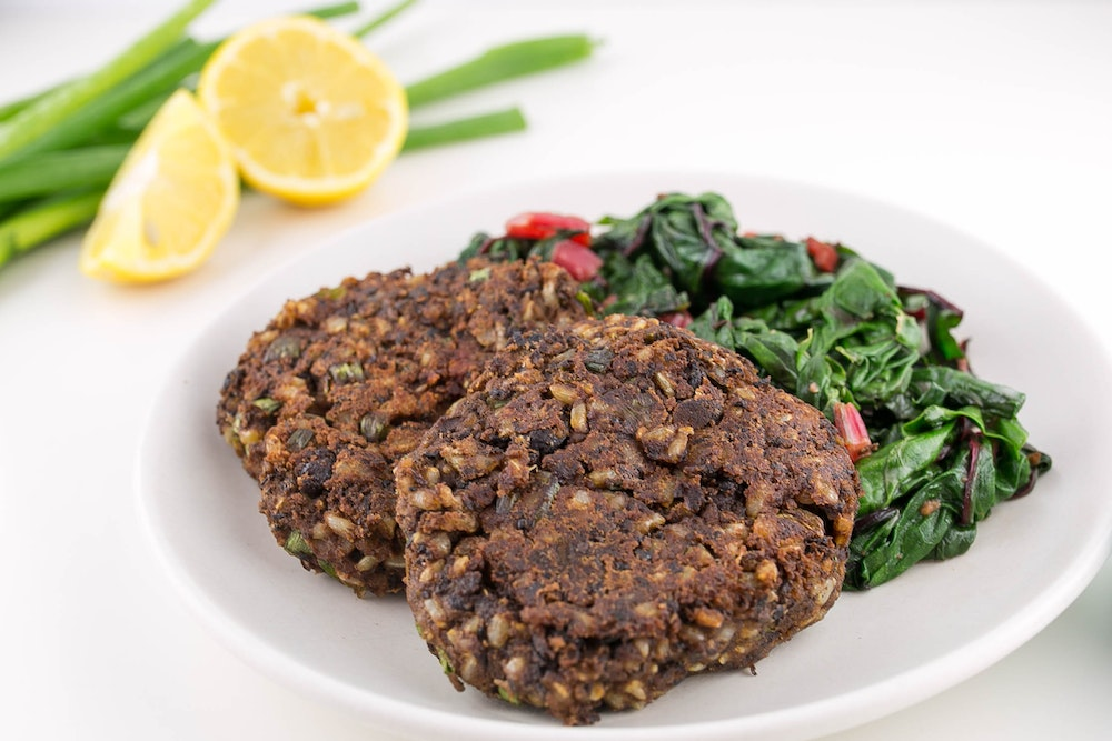 Black Bean and Brown Rice Patties