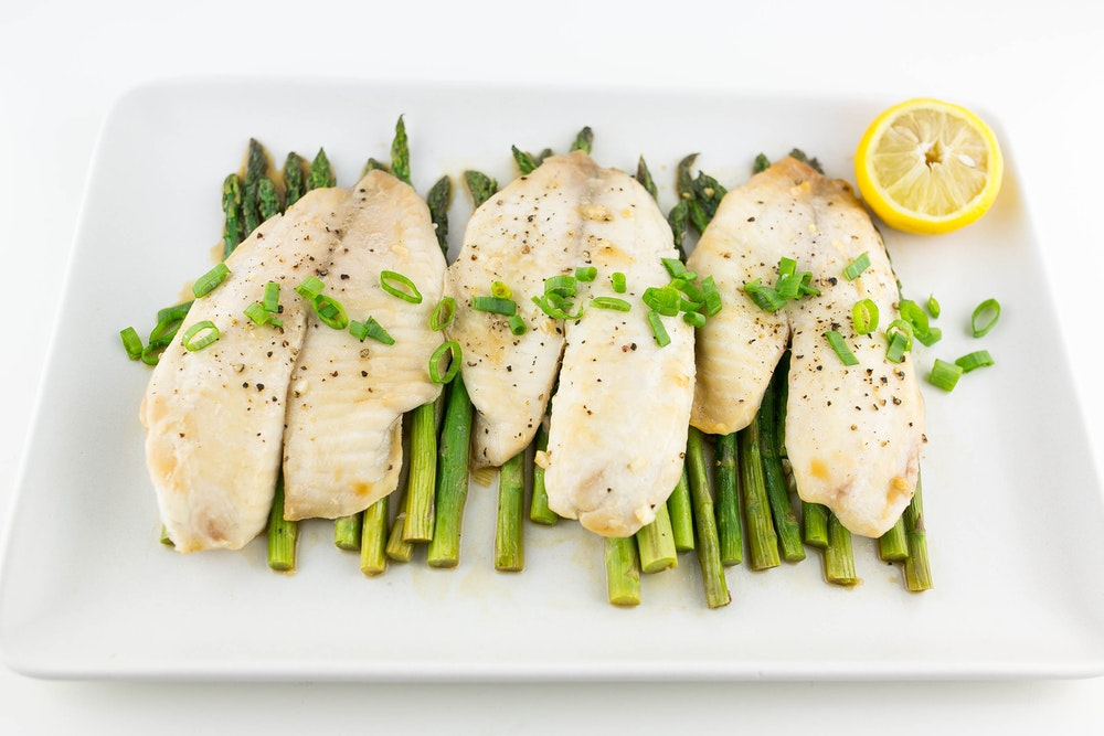 Lemon Scallion Tilapia