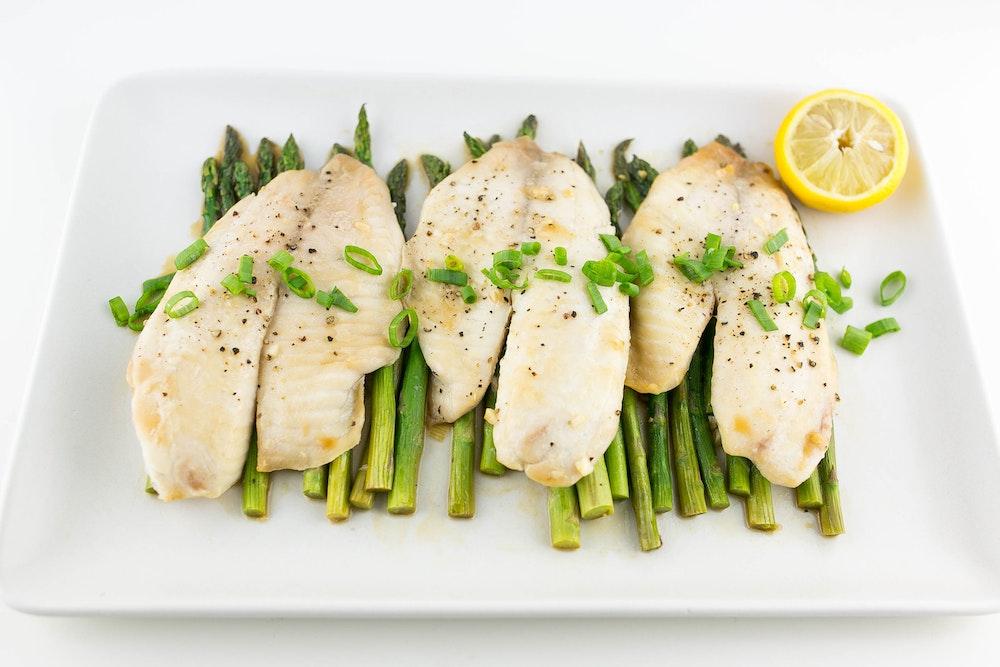 Lemon Scallion Tilapia