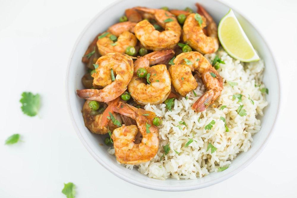 Bombay Shrimp Saute