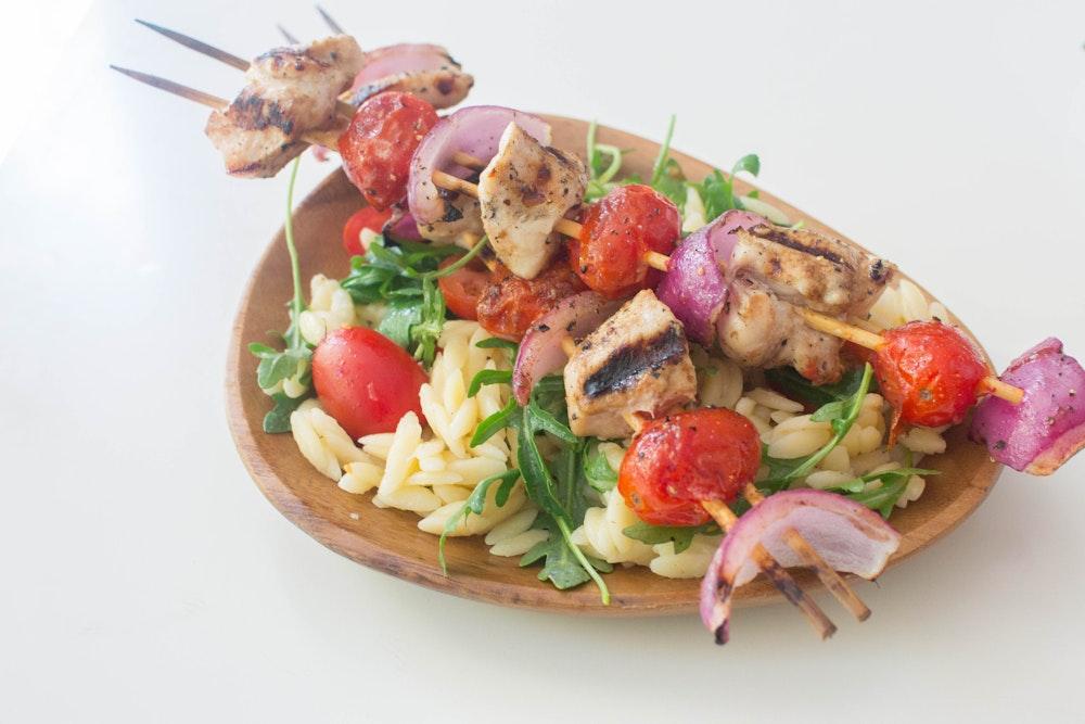 Balsamic Chicken Kebabs