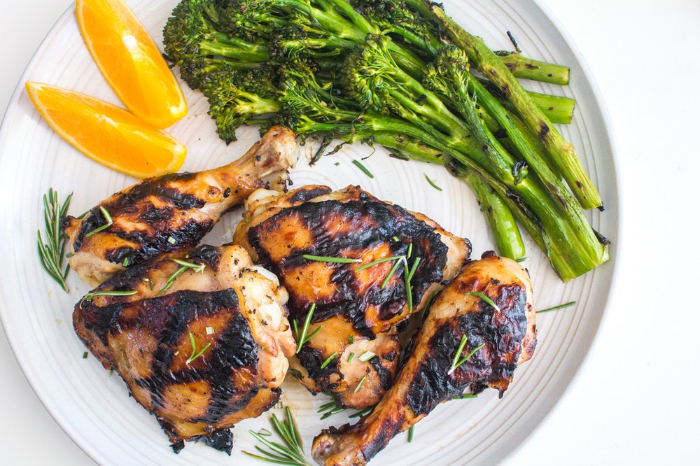 Grilled Orange-Rosemary Chicken