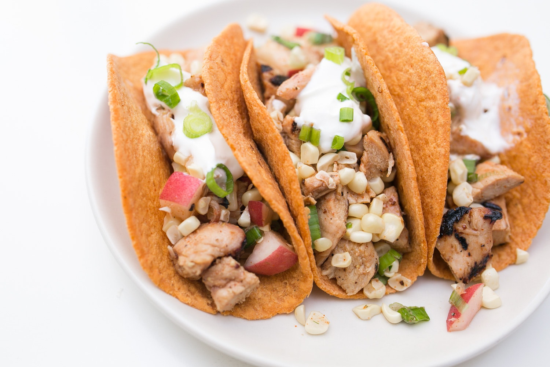 Honey-Mustard Chicken Tacos | Cook Smarts
